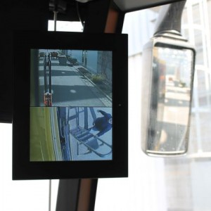 monitor real-time rearview mirror system